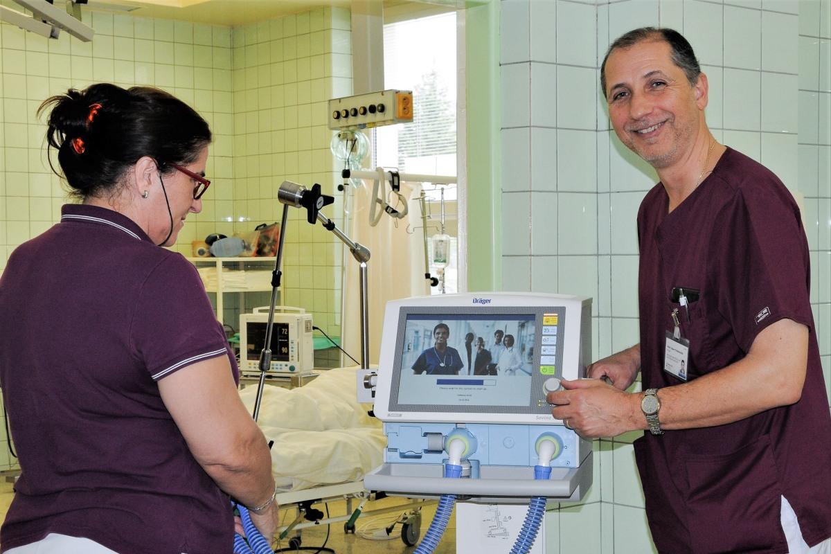 Nemocnica Zvolen zakúpila pľúcne ventilátory pre akútnych pacientov