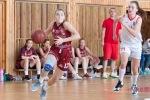 basketbalový zápas kadetiek Zvolen a Sereď