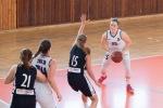 basketbalový zápas junioriek Zvolen a Levice