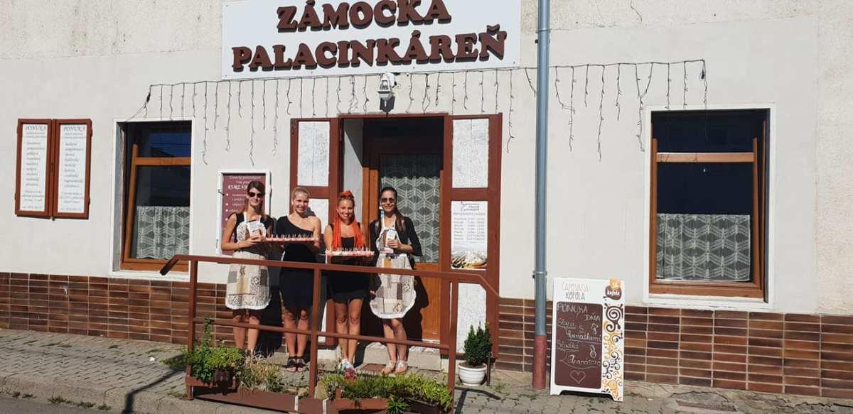 Zámocká palacinkáreň - Miesto, kde sa mení obyčajné na neobyčajné
