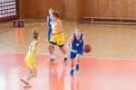 basketbalový zápas žien Zvolen a Žilina