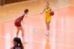 basketbalový zápas 1. liga Zvolen a Sereď