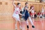 basketbalový zápas kadetiek - Zvolen a Nitra