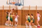 basketbalový zápas kadetiek Zvolen a Nové mesto