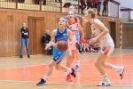 basketbalový zápas kadetiek Zvolen a Bratislava