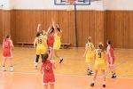 basketbalový zápas žien Zvolen a Banská Bystrica