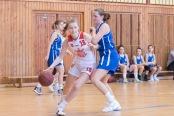 basketbalový zápas kadetiek Zvolen a Ivanka