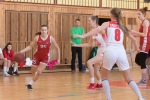 basketbalový zápas kadetiek Zvolen a Banská Bystrica