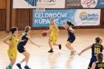 basketbalový zápas 1. liga žien - Zvolen a Košice