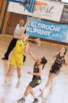 basketbalový zápas prvoligistiek Zvolen a Prešov