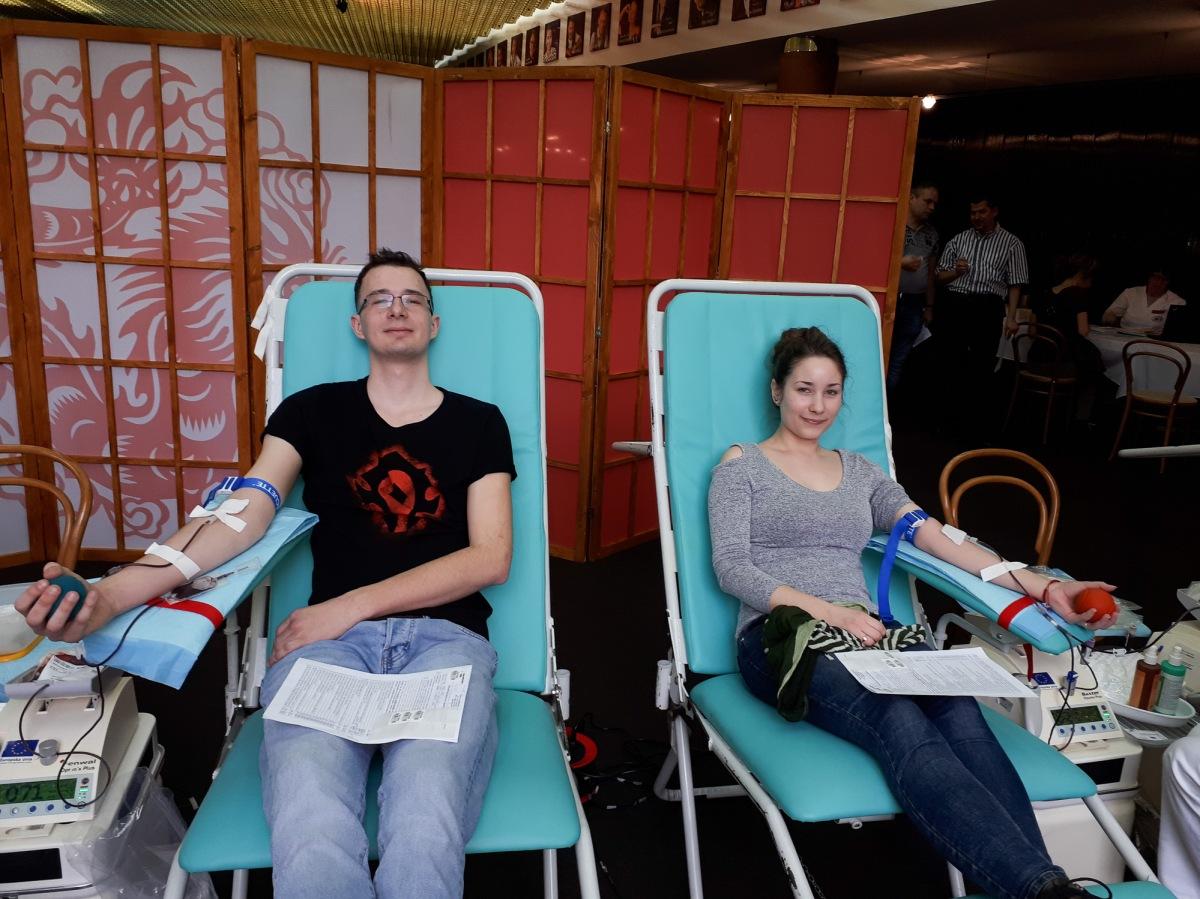Do divadla prišlo darovať krv viac ako štyridsať darcov
