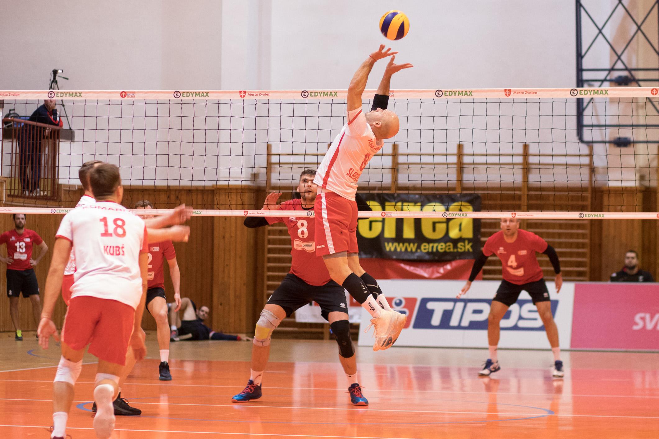 MVK Zvolen – VK Spartak UJS Komárno(bielo-červená)