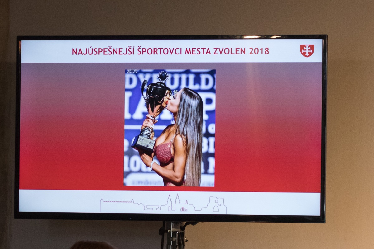 Mesto Zvolen ocenilo najlepších športovcov za rok 2018