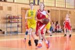 basketbalový zápas mini medzi Zvolenom a Sereďou