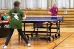 Oblastný turnaj mládeže v stolnom tenise.