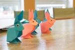 zajačie origami