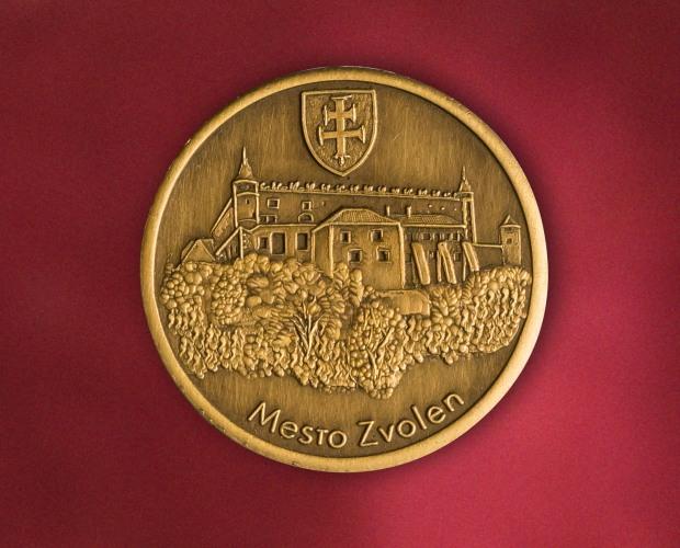 pamätná minca mesta Zvolen