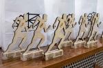 drevené trofeje behu nočným zvolenom