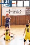 basketbalový zápas žien Zvolen a Dubček Bratislava
