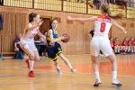 basketbalový zápas kadetiek Zvolen a Košice