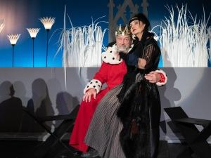 divadelný kráľ a kráľovná