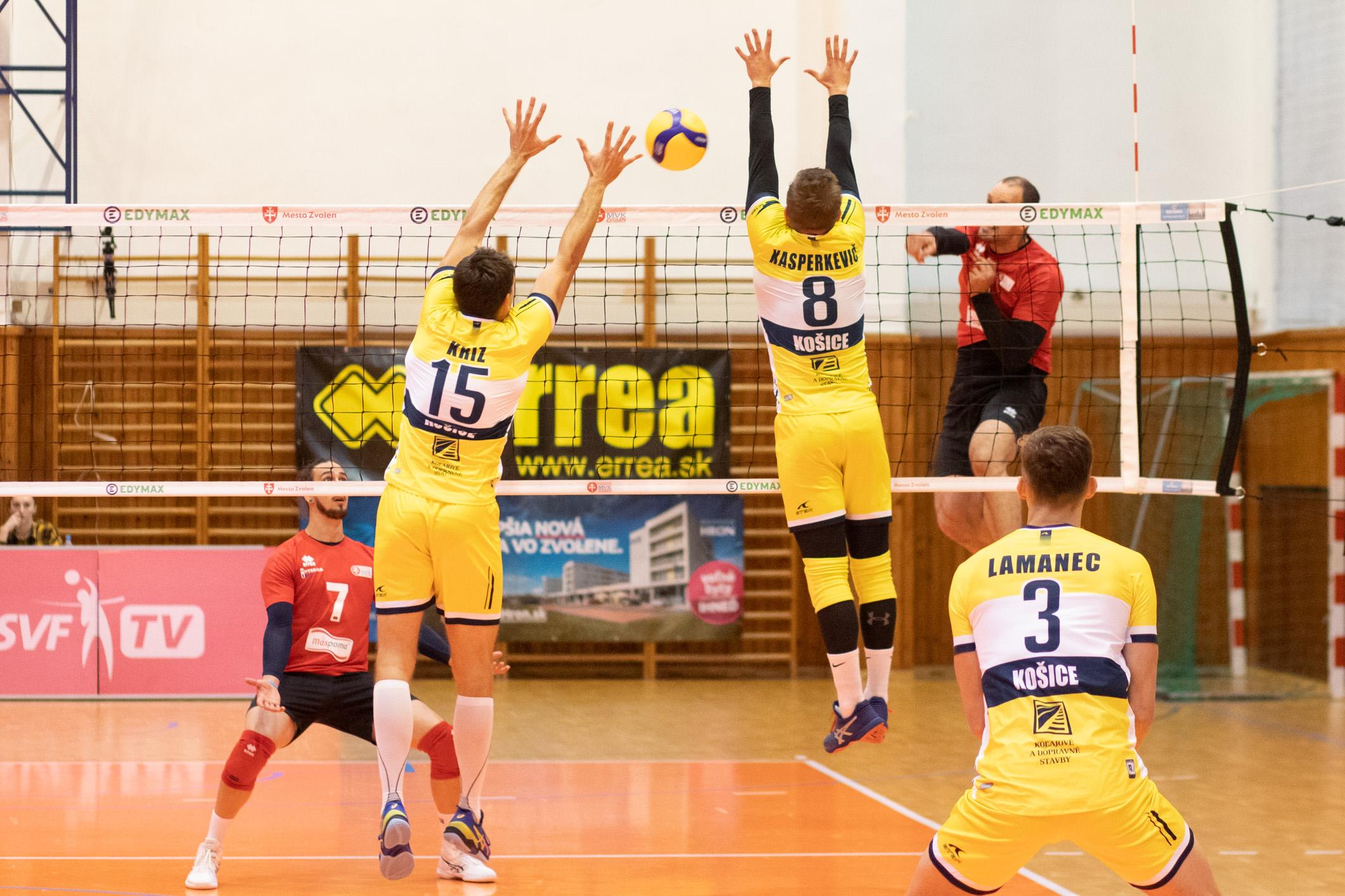 MVK Zvolen – VK KDS Šport Košice(žltá)