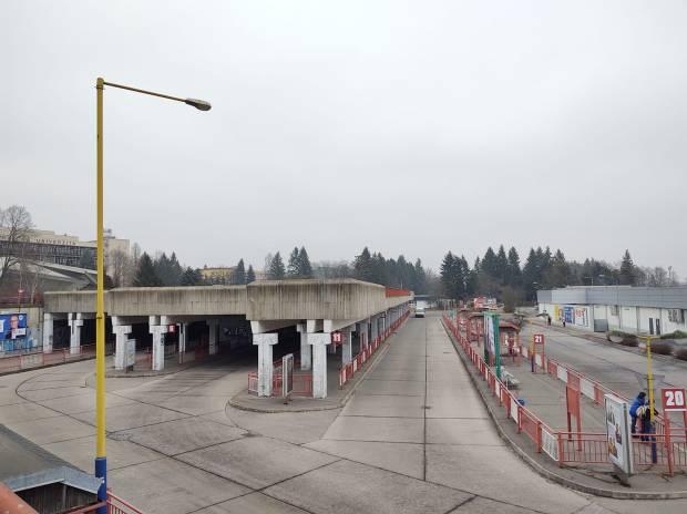 autobusová stanica vo Zvolene
