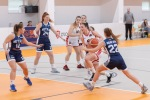 basketbalový zápas dievčat v Rates aréne vo Zvolene